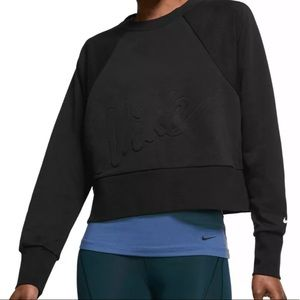 Nike Women's Dry Fleece Get Fit Lux Crew